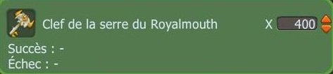 Mulage et Royalmouth !