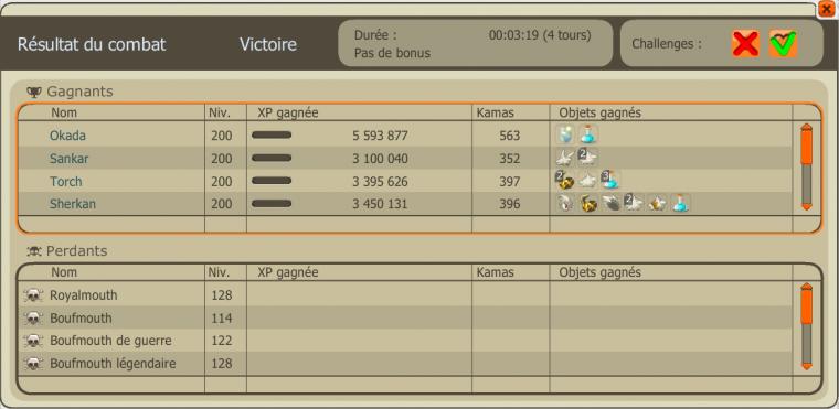 Tengu/Korriandre passé avec les mules et Top 65 ladder Otomai !
