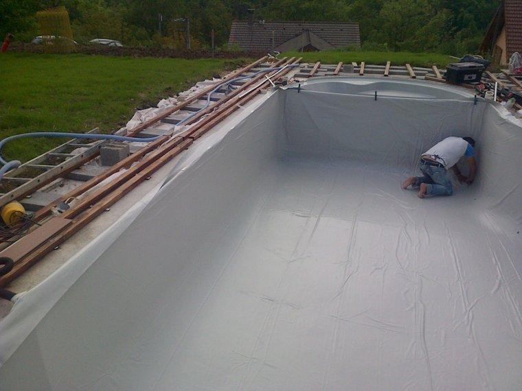 prepa la mise en eau construction piscine waterair. Black Bedroom Furniture Sets. Home Design Ideas