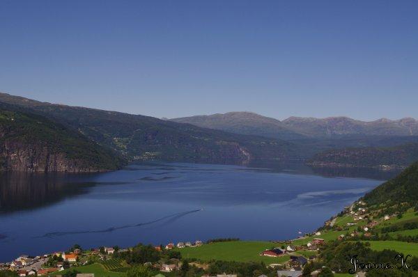 Norvège - Fjord de Norvège