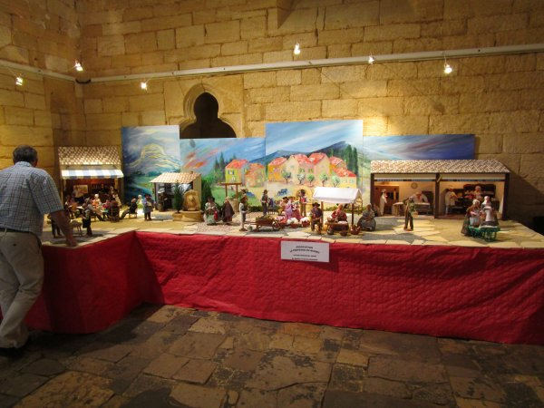 Expo Gourdon 2017, les Santons de Provence !!!