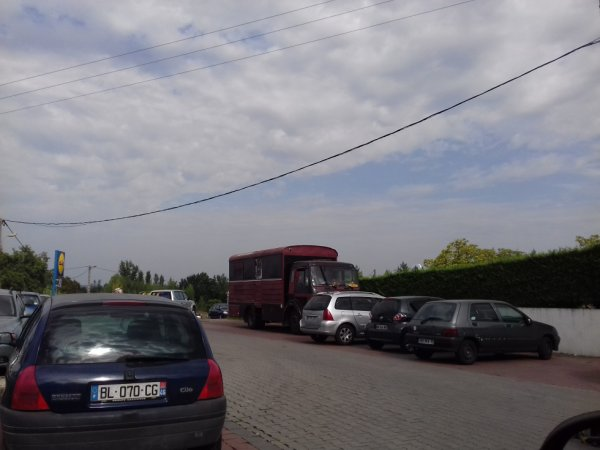 Camion de cirque ???