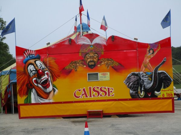 Cirque CANCY commune LE VIGAN , le 1 er octobre 2017, la caisse !!!