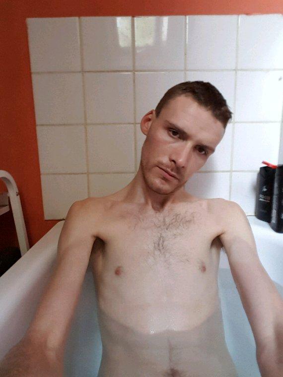 Moi dans le bain