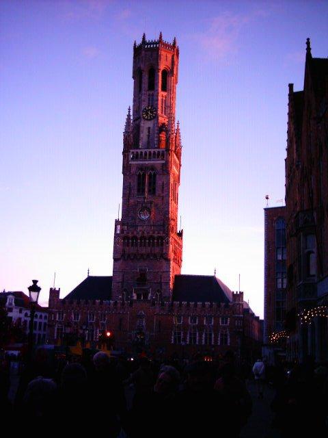 Beffroi de Bruges (Belgique)