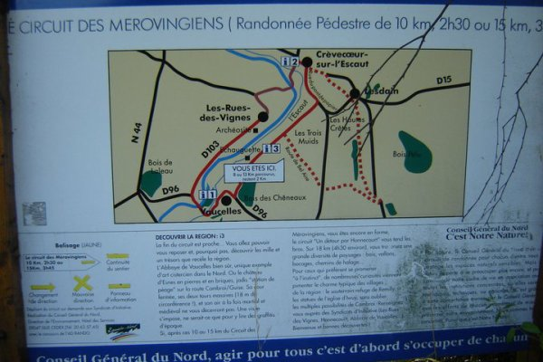 L'Echaugette du Circuit des Mérovingiens à Voucelles