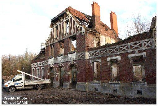 Ancienne gare des mines de Lens à Douvrin 62