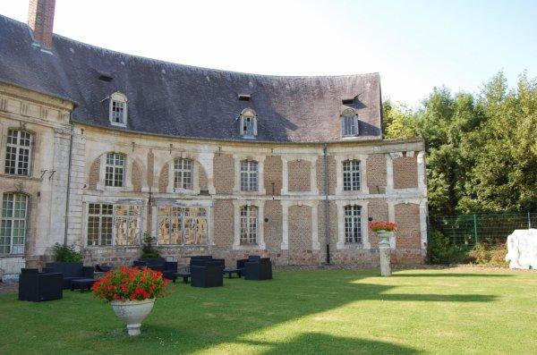 Château de Cercamp à Frévent 62