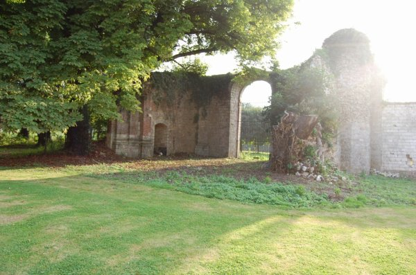Ruines église du château de Cercamp