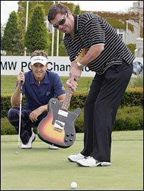 Une petite partie de golf avec Tim?!