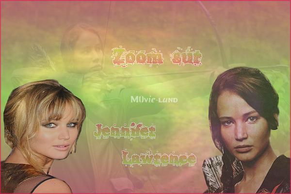 Biographie :  Jennifer Lawrence ♦ Actrice ♦