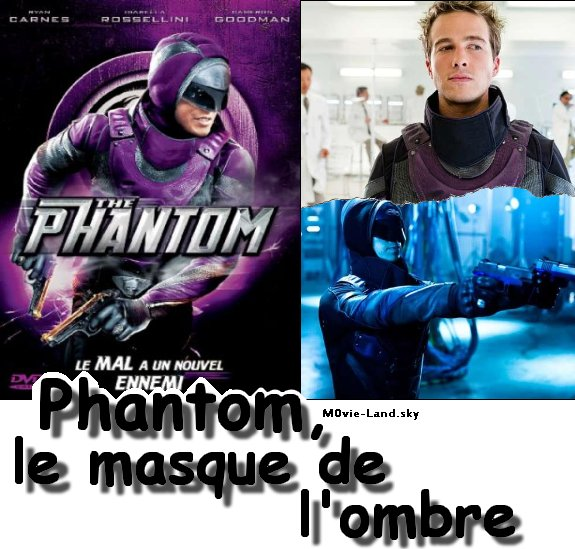 Film :  Phantom, le masque de l'ombre ► 2010 ◄