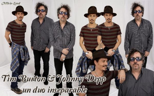 Divers :  Tim Burton et Johnny Depp | Un duo inséparable |