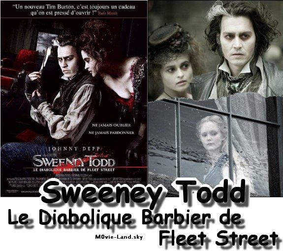 Film :  Sweeney Todd, le diabolique barbier de Fleet Street ► 2008 ◄
