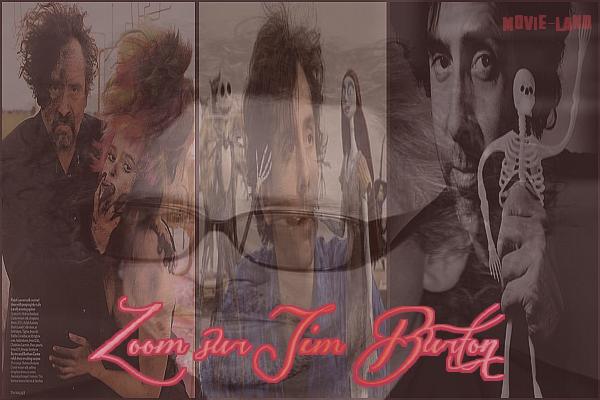 Biographie :  Tim Burton ♣ Réalisateur ♣