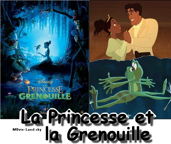 Dessin Animé :  La Princesse et la Grenouille ► 2010 ◄