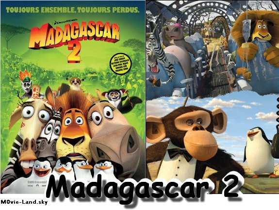 Dessin Animé :  Madagascar (1 à 3) ► 2005 & 2008 & 2012 ◄