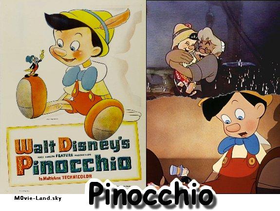 Dessin Animé :  Pinocchio ► 1946 ◄