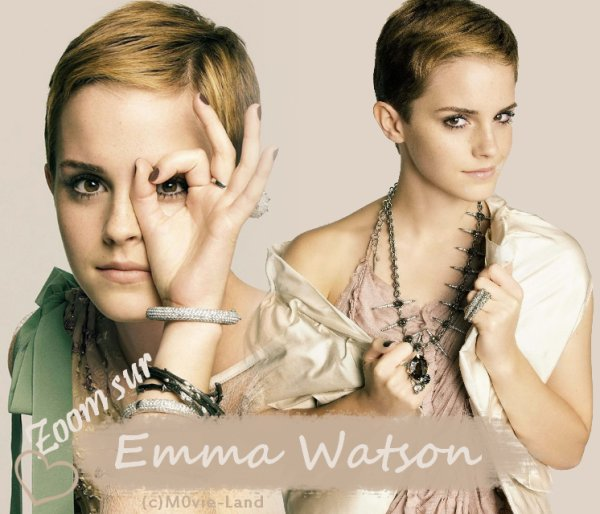 Biographie :  Emma Watson ♦ Actrice ♦