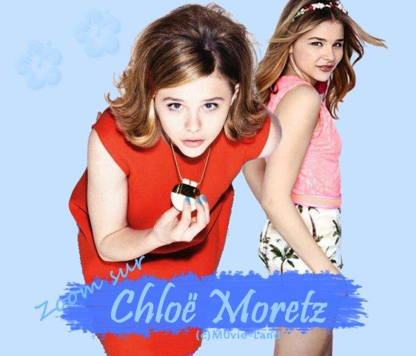 Biographie :  Chloë Moretz ♦ Actrice ♦