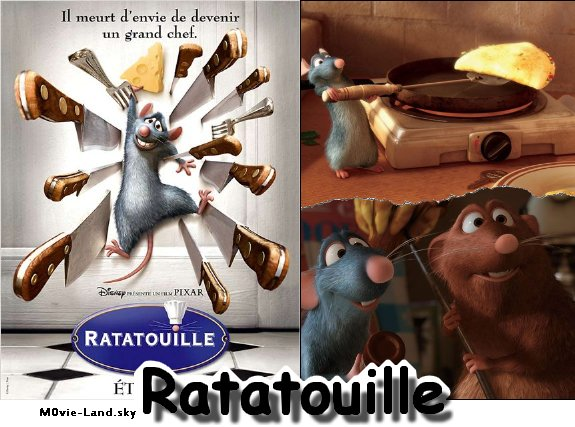 Dessin Animé :  Ratatouille ► 2007 ◄