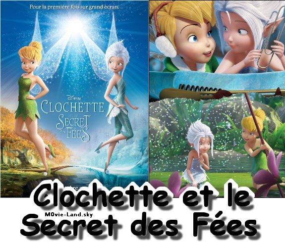 Dessin Animé :  Clochette et le Secret des Fées ► 2012 ◄