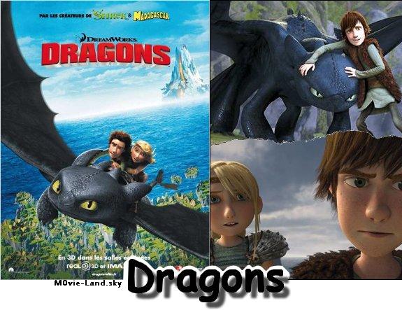 Dessin Animé :  Dragons ► 2010 ◄