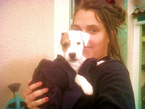 mardi 22 mai 2012 21:56  Mon chien et Moi <3