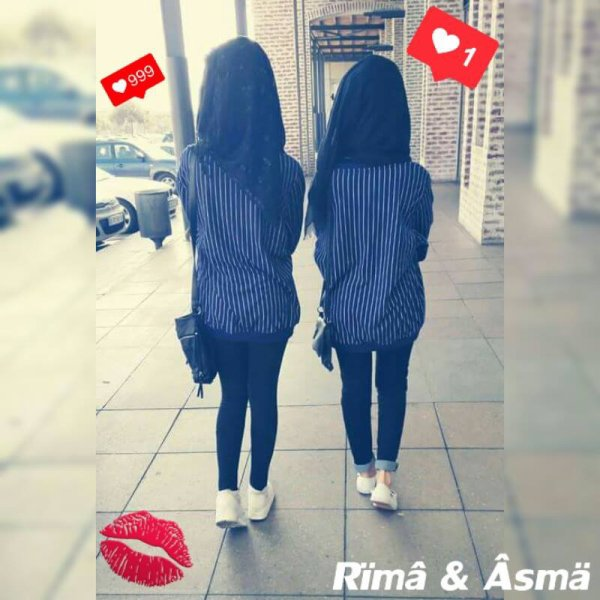 Yeah we are sisters :* :D