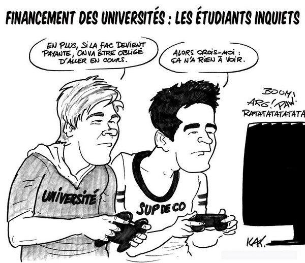Mes Universités... C'était pas Neuilly..C'était pas Nanterre...Mes Universités...Tralalala..