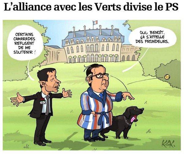 L'alliance avec les Verts