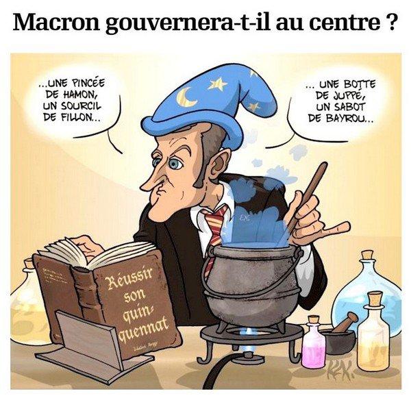 Macron gouvernera-t-il au centre ?