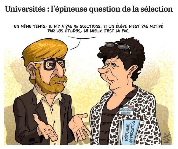 170718   Universités  l'épineuse question de la sélection