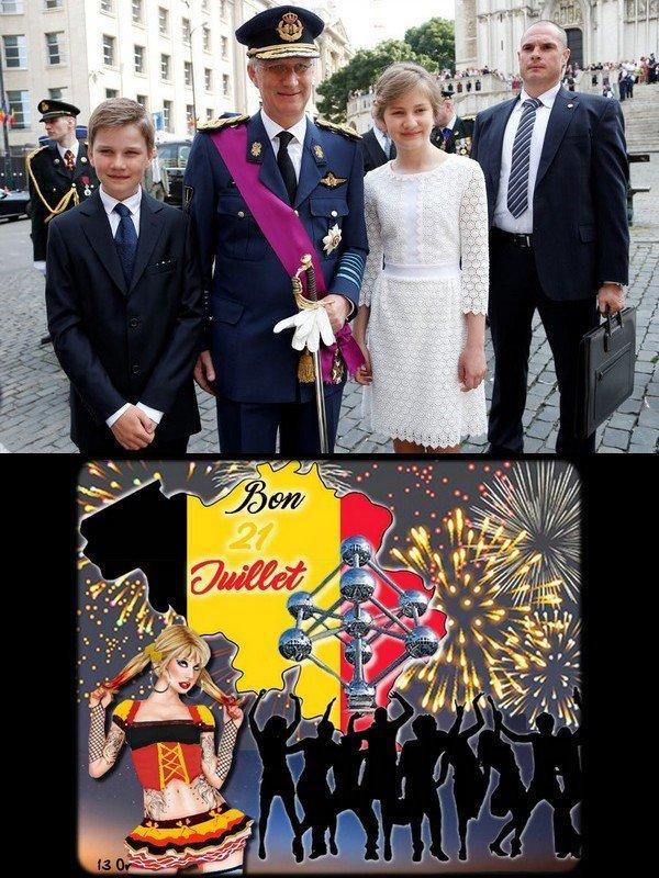 170721  Fête Nationale Belge   (21 Juillet)