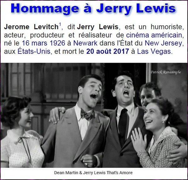 Hommage à Jerry Lee Lewis -- Décédé le 20 Août 2017
