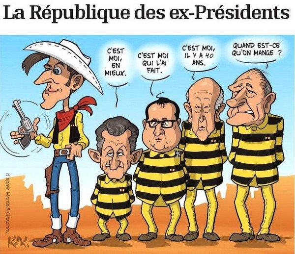LA Rentrée -- Et la République des Ex-Présidents