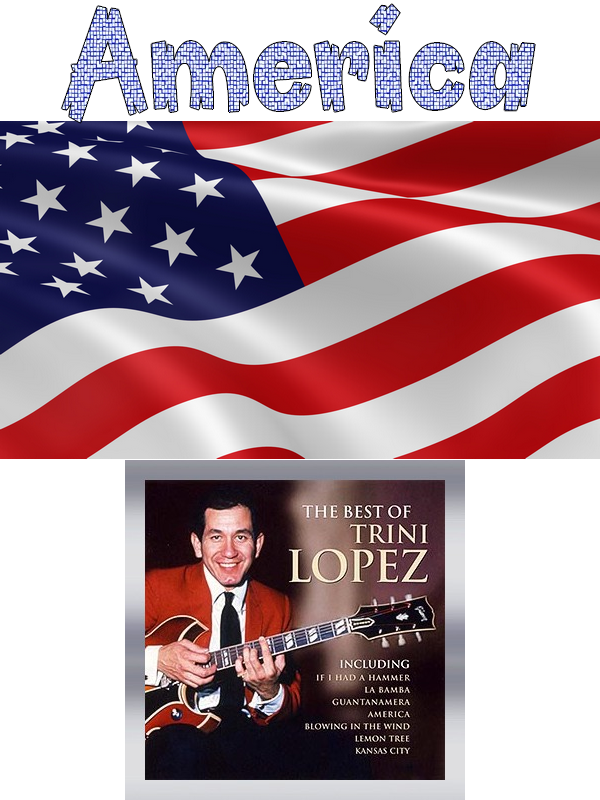"The Sharks & The Jets 1961  West Side Story  --  1963 Trini Lopez : ""America"""