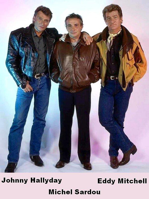 Eddy Mitchell et Johnny Hallyday --- L'Epopée du Rock Français