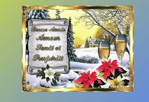 Heureuse Nouvelle Année à Tous