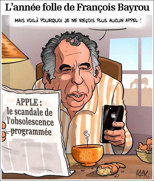 29 Décembre é017 -- L'Année Folle de François Bayrou