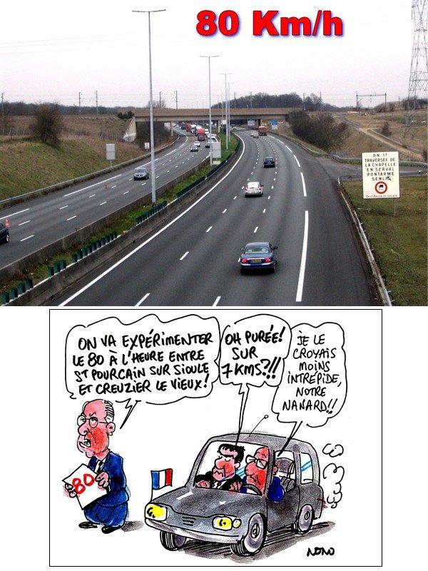 80 km/h au lieu de 90 : une majorité de Français est contre.