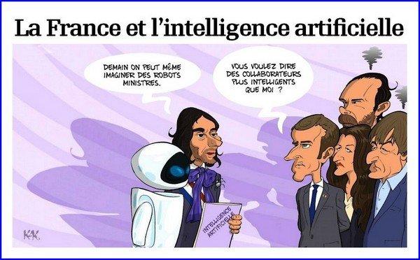 La France et l'intelligence artificielle