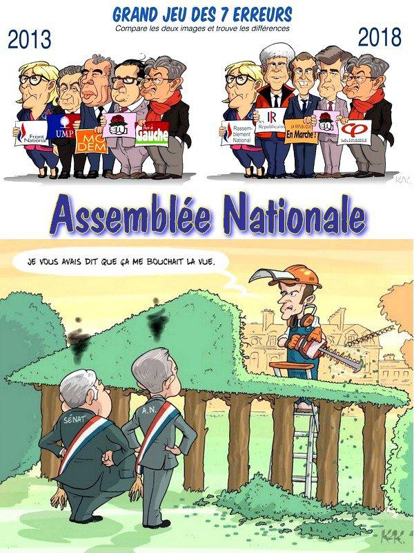 Le jeu des Sept Erreurs -- Assemblée Nationale