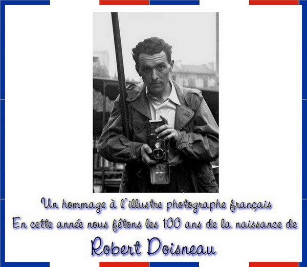 --  Hommage à l'illustre photographe français Robert Doisneau --