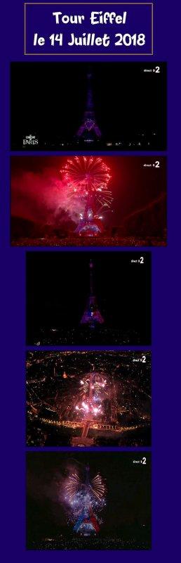 -- 14 Juillet - Concert à la Tour Eiffel et Feux d'Artifices --