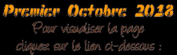-- Nous sommes en Octobre -- L'Automne est en place -- Bon Mois à Tous