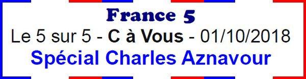 -- Hommage à Charles Aznavour --