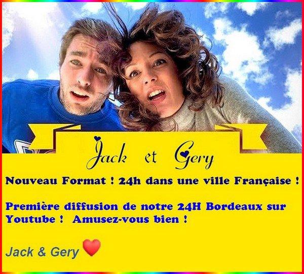 -- Gery et Jack dans Bordeaux --