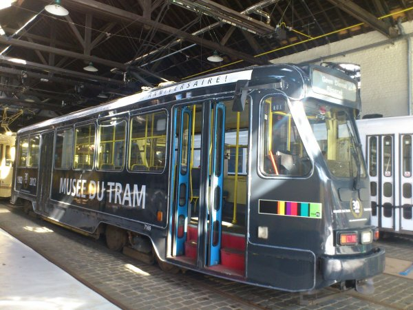 . Musée du Tram . Stib-Images .