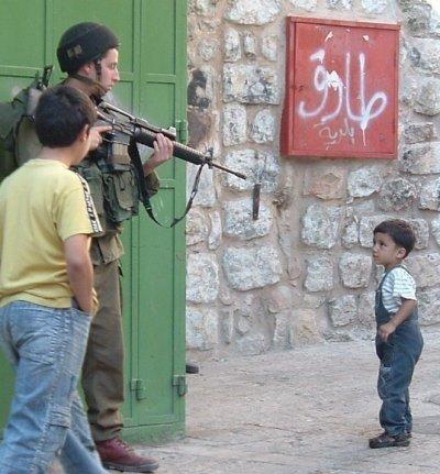 frère palestinien. Won't nous faire peur avec leurs armes à feu